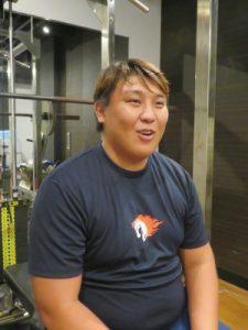 藤本遼選手2