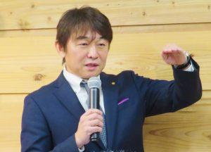 柴田社長からの今期事業説明